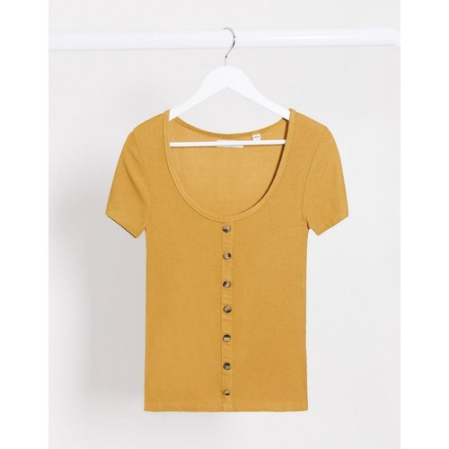 Polly - T-shirt boutonné - Brave Soul - Modalova
