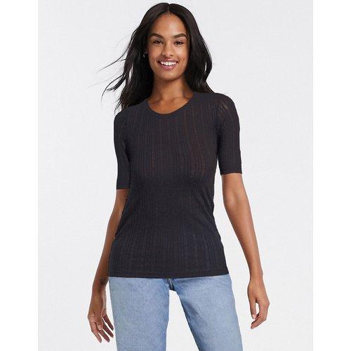 Valerie - T-shirt côtelé - Brave Soul - Modalova
