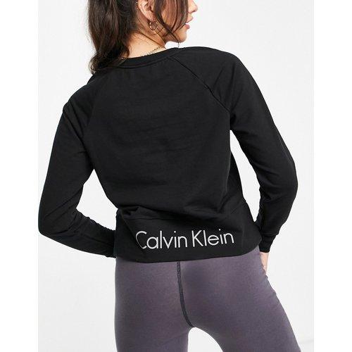 Calvin Kein - Sweat-shirt en coton biologique avec logo - Calvin Klein - Modalova