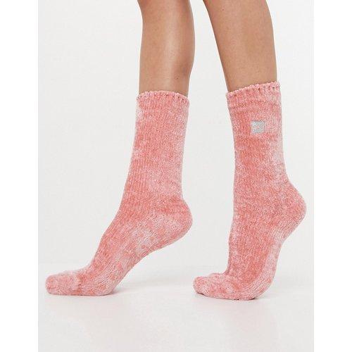 Chaussettes confortables en maille chenille - Calvin Klein - Modalova