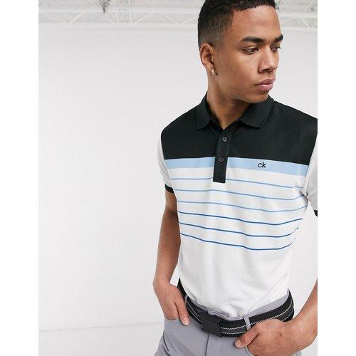 Flint - Polo - avec rayures bleues - Calvin Klein Golf - Modalova