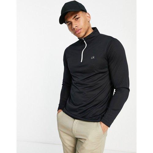Golf - Newport - Sweat-shirt à demi-fermeture éclair avec bande sur la manche - Calvin Klein - Modalova