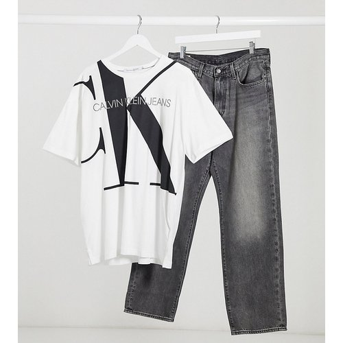 Big and Tall - Exploded - T-shirt avec logo sur la poitrine - Calvin Klein Jeans - Modalova