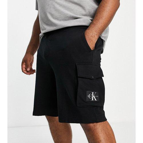 Big & Tall - Short en jean coupe classique - Calvin Klein Jeans - Modalova