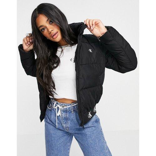 Doudoune avec ourlet à logos - Calvin Klein Jeans - Modalova