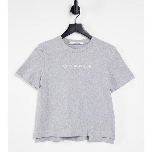 Exclusivité - Institutional - T-shirt à logo - Calvin Klein Jeans - Modalova