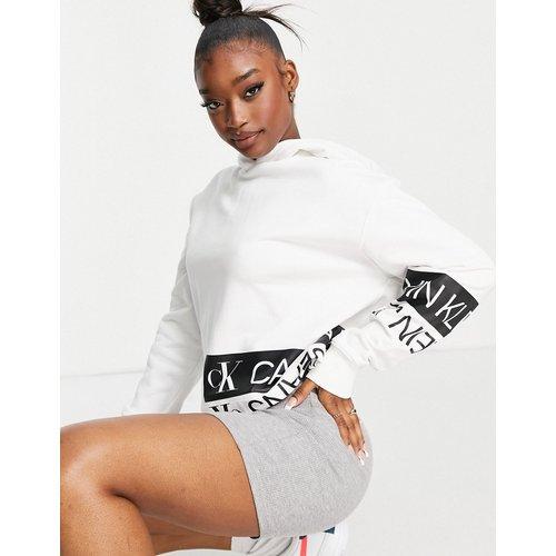 Hoodie avec logo miroir - Calvin Klein Jeans - Modalova