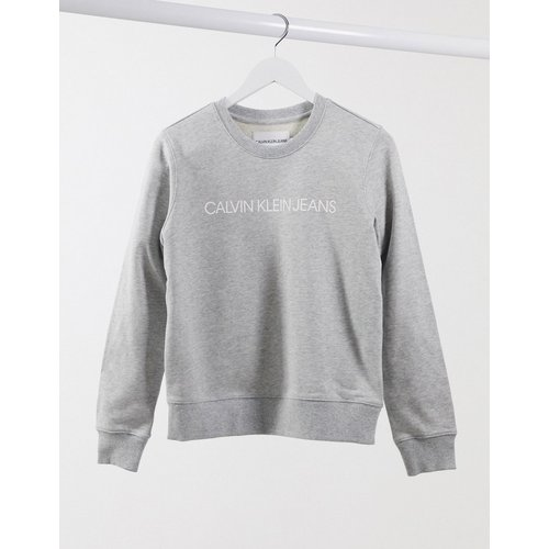 Institutional - Sweat-shirt avec logo - Calvin Klein Jeans - Modalova