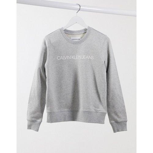 Institutional - Sweat-shirt avec logo - Calvin Klein Jeans - Modalova