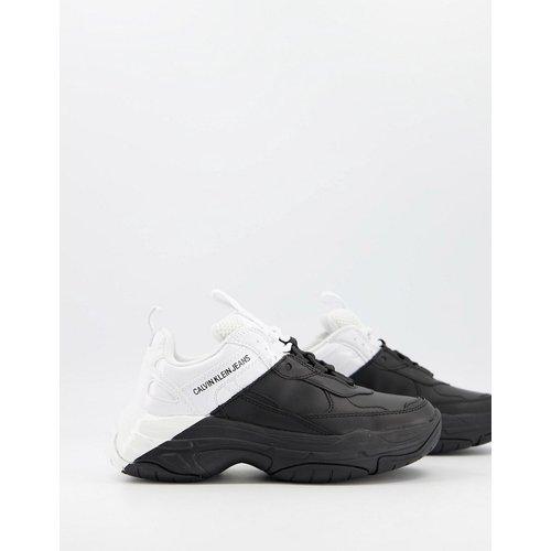 Jeans - Madelia - Baskets chunky - et blanc - Calvin Klein - Modalova