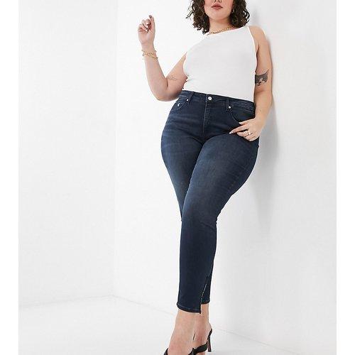 Jean skinny taille haute - Bleu noir - Calvin Klein Jeans Plus - Modalova