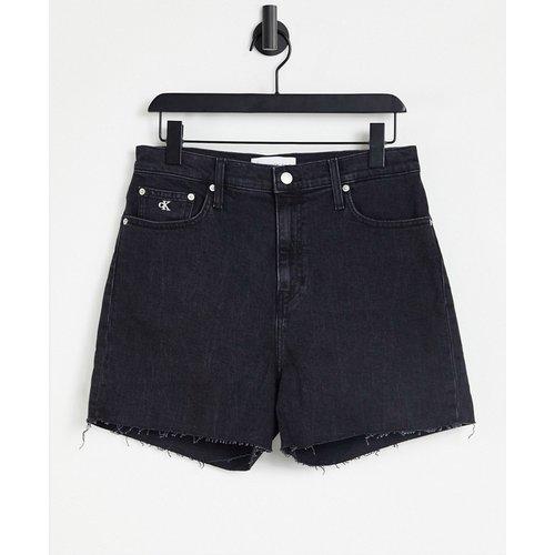 Short mom à taille haute - Calvin Klein Jeans - Modalova