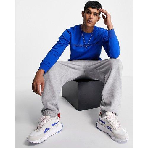 Sweat-shirt ras de cou avec logo - Calvin Klein Jeans - Modalova