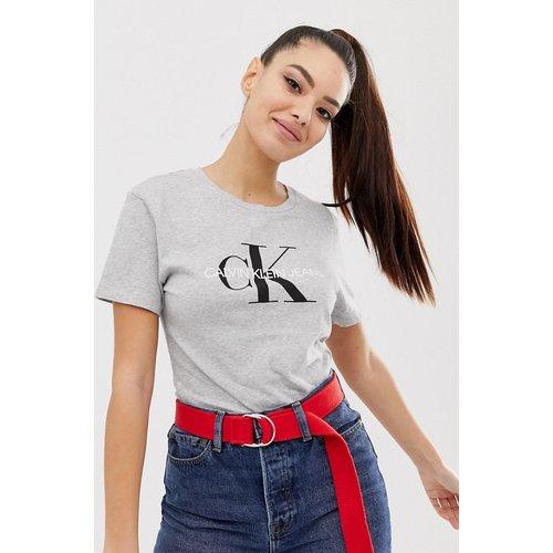 T-shirt coupe classique à logo monogramme - Calvin Klein Jeans - Modalova