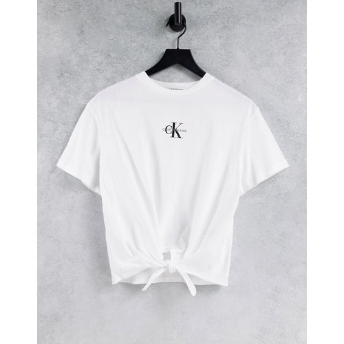 T-shirt noué - Calvin Klein Jeans - Modalova