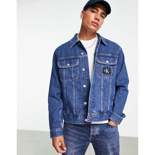 Veste en jean style années90 à délavage moyen - Calvin Klein Jeans - Modalova