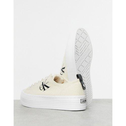 Jeans - Zolah - Baskets - Naturel/ - Calvin Klein - Modalova