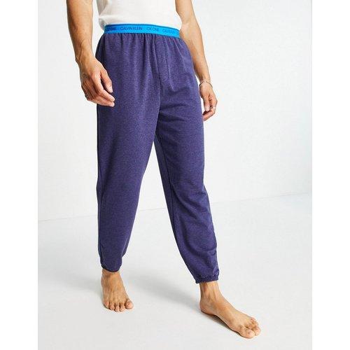 Loungewear - Jogger à taille contrastée - Bleu - Calvin Klein - Modalova