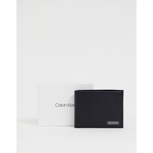 Porte-monnaie en cuir avec plaque - 5CC - Calvin Klein - Modalova