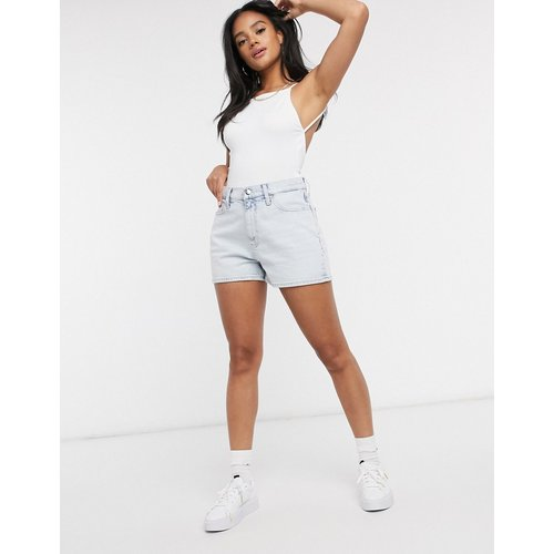 Short taille haute - délavé - Calvin Klein - Modalova
