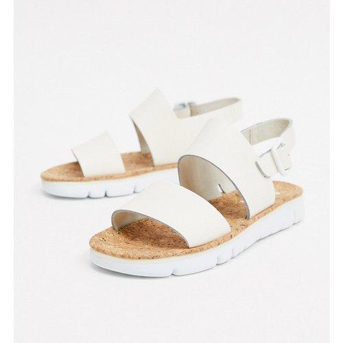 Sandales plates en cuir - cassé - Camper - Modalova