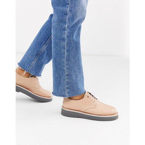 Tyra - Chaussures richelieu à lacets et semelle chunky - Blush - Camper - Modalova