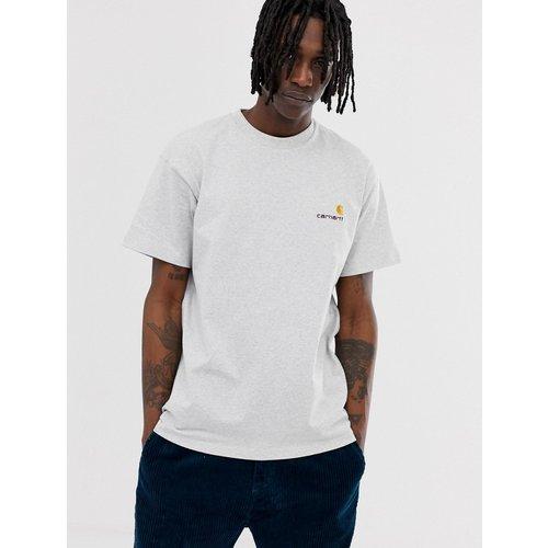 American script - T-shirt - chiné ash - Carhartt WIP - Modalova