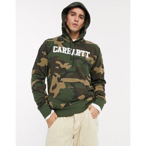 College - Hoodie - Camouflage - Carhartt WIP - Modalova