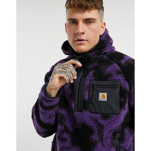 Prentis - Hoodie imitation peau de mouton à imprimé camouflage - Carhartt WIP - Modalova