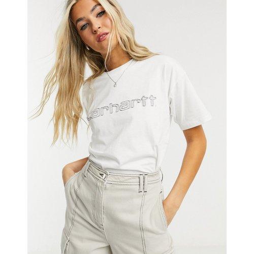 T-shirt à double logo brodé - Carhartt WIP - Modalova