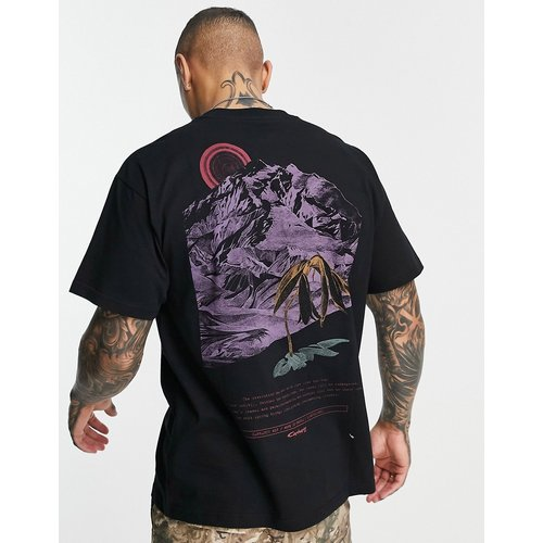 T-shirt avec imprimé montagne au dos - Carhartt WIP - Modalova