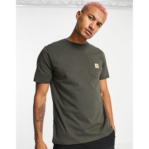 T-shirt avec poche - Kaki - Carhartt WIP - Modalova