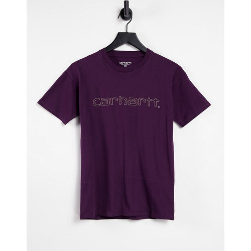 T-shirt décontracté à logo brodé - Carhartt WIP - Modalova