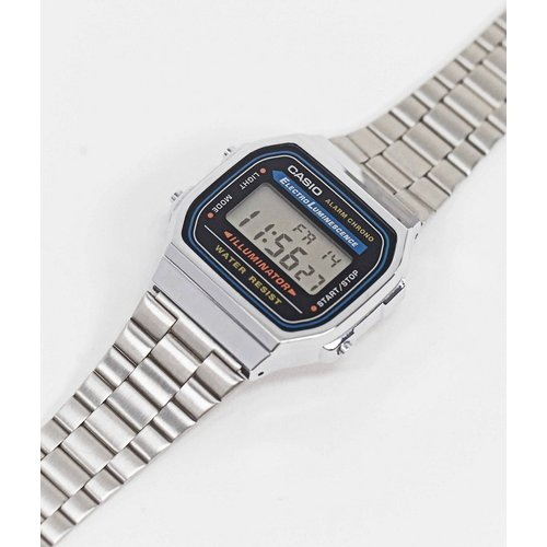 A168WA-1YES - Montre-bracelet digitale unisexe - Casio - Modalova