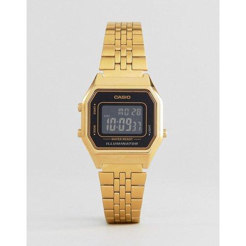 LA680WEGA-1BER -Petite montre numérique avec cadran noir - Casio - Modalova