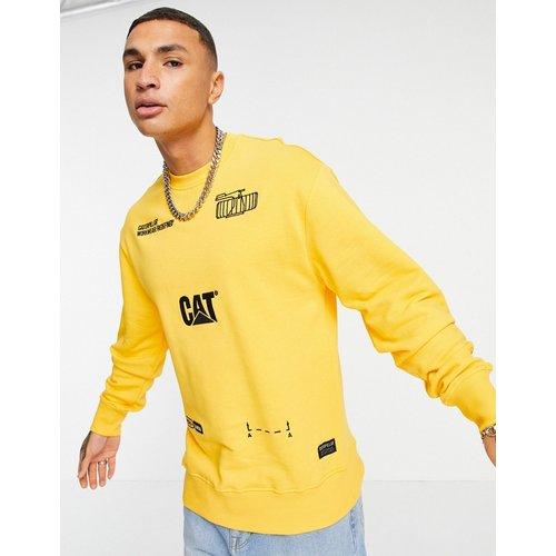 Caterpillar - Sweat-shirt avec imprimé machine - Cat Footwear - Modalova