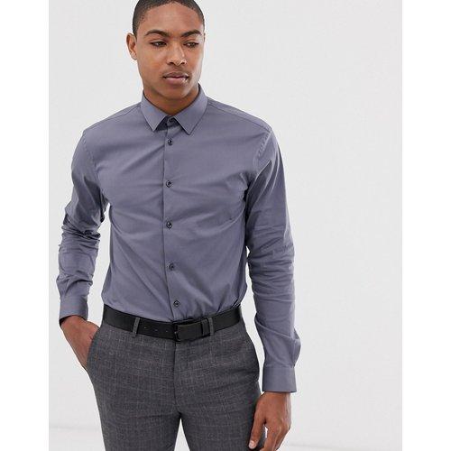 Chemise habillée coupe ajustée - Anthracite - Celio - Modalova