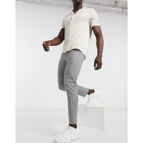 Pantalon à petits carreaux - Celio - Modalova