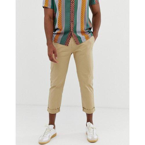 Pantalon chino court ajusté - Celio - Modalova