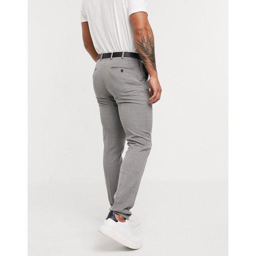 Pantalon de costume slim à carreaux - foncé - Celio - Modalova