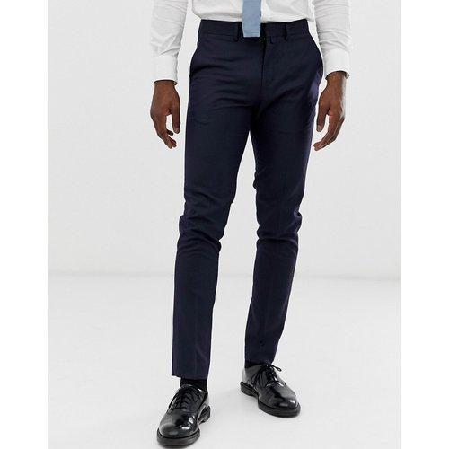 Pantalon de costume slim - Bleu marine - Celio - Modalova