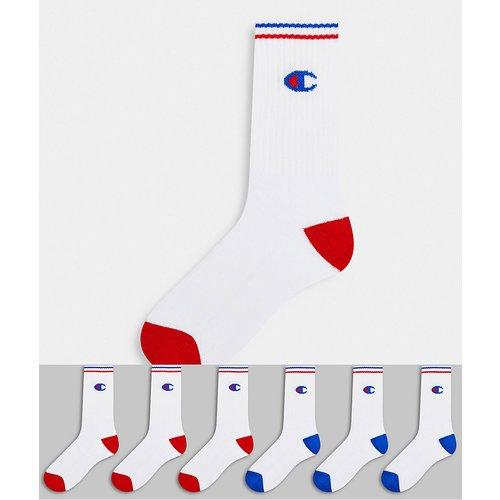 Lot de 6 paires de chaussettes avec logo - Champion - Modalova
