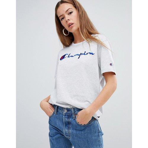 Reverse Weave - T-shirt oversize avec logo sur le devant - Champion - Modalova