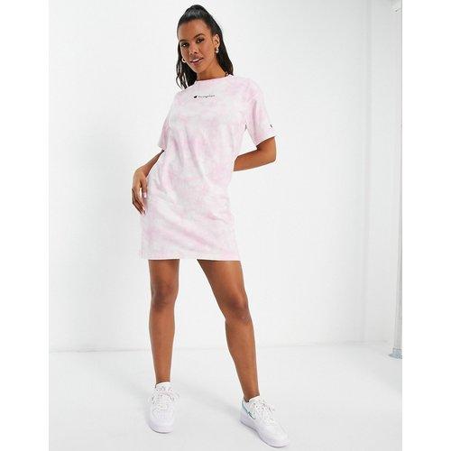 Robe t-shirt effet tie-dye - Champion - Modalova