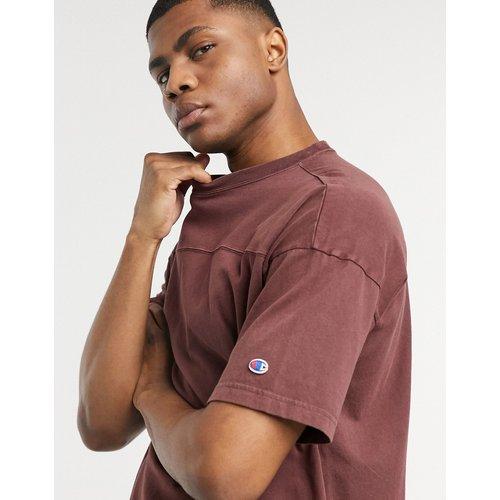 T-shirt avec coutures apparentes - Bordeaux - Champion - Modalova