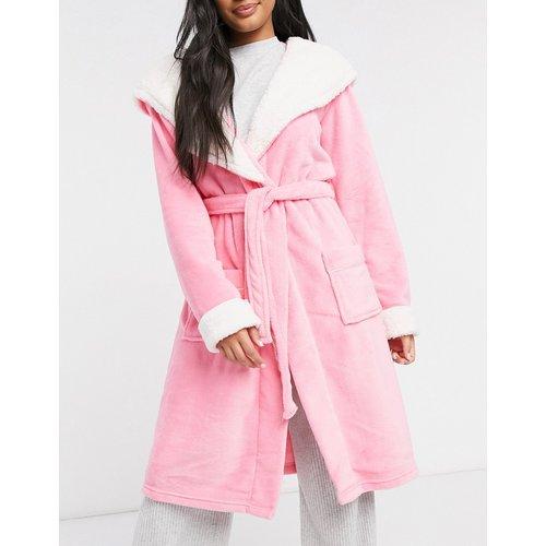 Robe de chambre duveteuse - Chelsea Peers - Modalova
