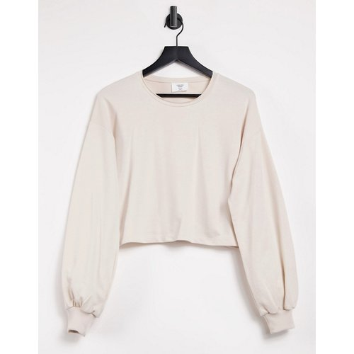 Sweat-shirt confort - Taupe - Chelsea Peers - Modalova