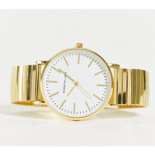 Montre-bracelet à cadran blanc - Christin Lars - Modalova