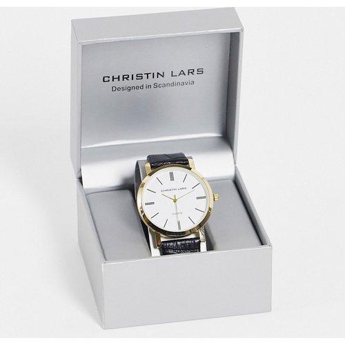 Montre-bracelet à cadran - Noir - Christin Lars - Modalova