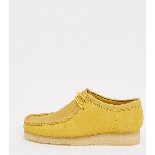 Chaussures wallabee en daim - Clarks Originals - Modalova